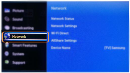 Using Wifi Direct on your Samsung TV