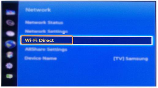 WiFi direct.