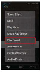 Play Speed