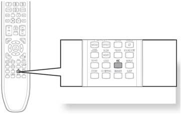 Press ASC button