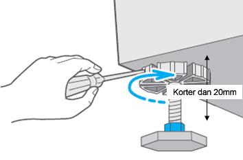 Comment puis-je régler le niveau d'eau du lave-linge ?