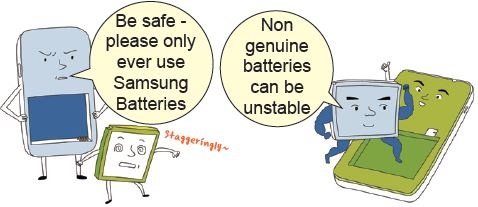 use original battery