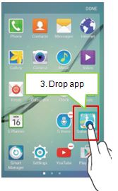 drop the app