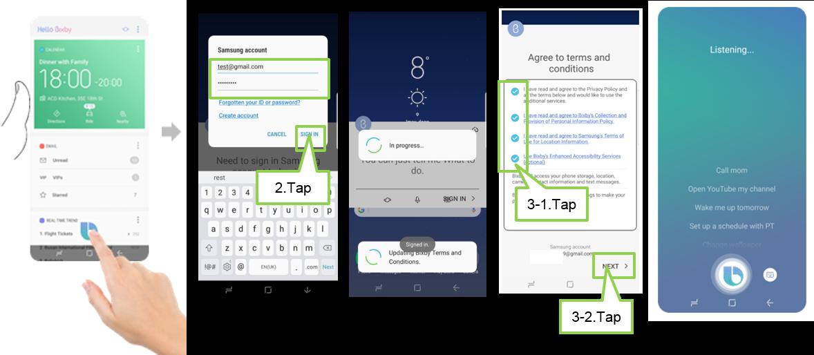 [Galaxy S8/S8+] How do I set up Bixby Voice?