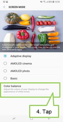 Tampilan warna Galaxy S8 / S8+ saya kemerahan. Apakah perangkat saya rusak?