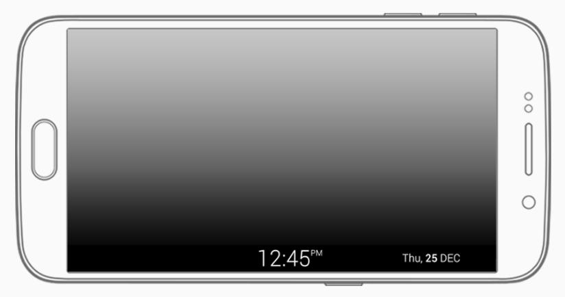 Wie verwende ich die Nachtuhr meines Galaxy S6 edge