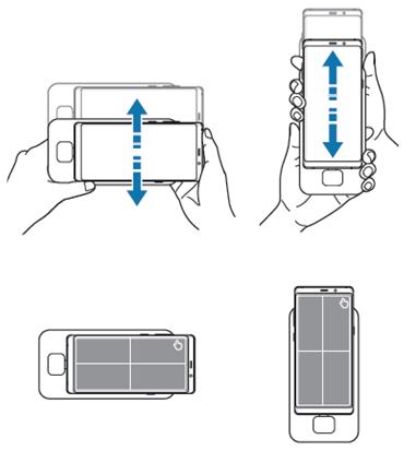 Bewegen Sie die Samsung DeX und Ihr Mobilgerät leicht auf und ab