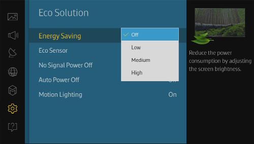 Energy Saving On/Off