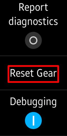 Bagaimana cara reset Gear Fit2
