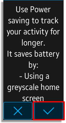 Bagaimana cara mengaktifkan Power Saving Mode / mode penghematan daya pada Gear Fit2?