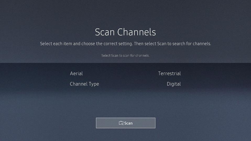 Scan channels