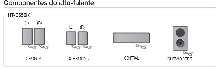 componentes do auto falante