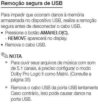 remover USB