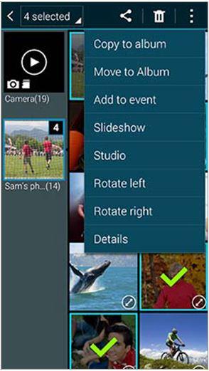 Galaxy S5 - Locate and Move Files