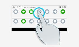use noti panel