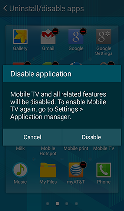 Disable application Screen Shot