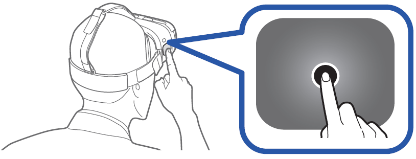 Déplacez le pointeur sur l'option « Réorienter » et appuyez sur le pavé tactile avec le doigt