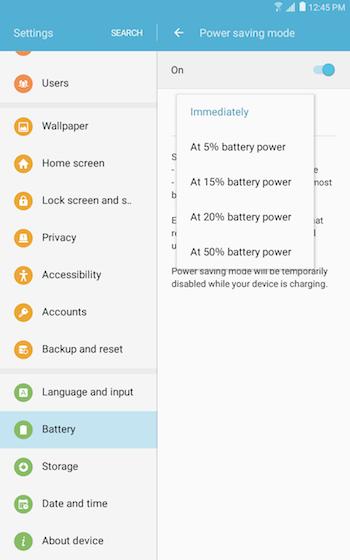 Power saving mode 4