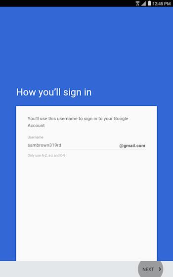 Google account 9