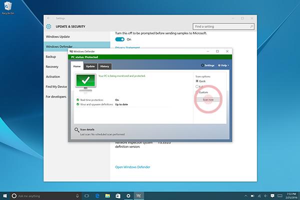 Windows Defender 7