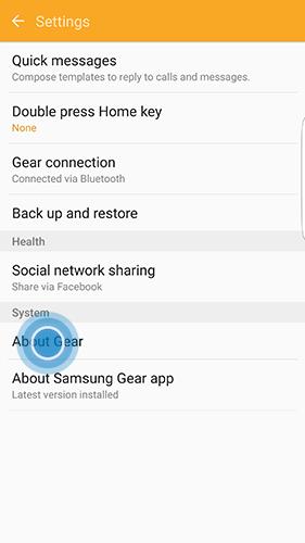 Bagaimana cara memperbarui perangkat lunak pada Samsung Gear Fit2 (SM-R360)?