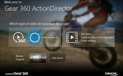 Gear 360 ActionDirector 3