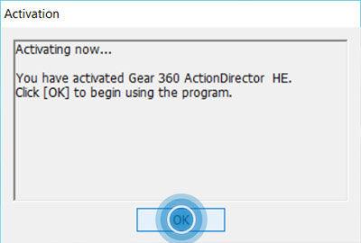 Gear 360 ActionDirector 5