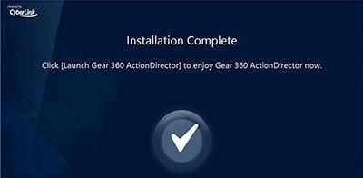 Gear 360 ActionDirector 9