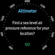 Altimeter & barometer 2
