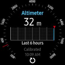 Altimeter & barometer 3