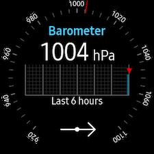 Altimeter & barometer 4