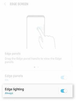 Edge lighting 2