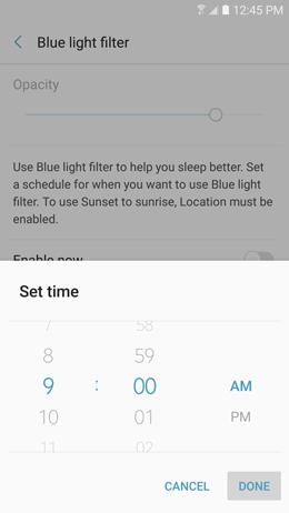 Blue light filter 11