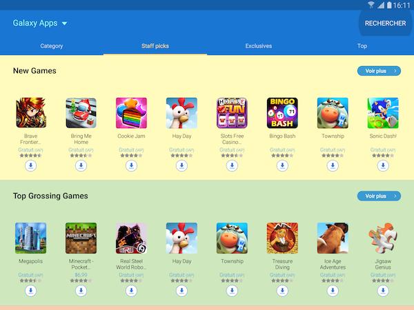 Galaxy Apps 2