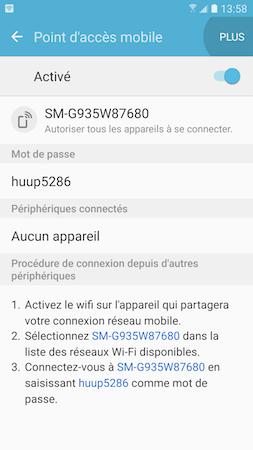 Point d'acces mobile 6