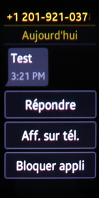 Message texte 3