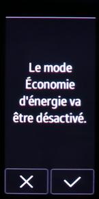 Mode économie d'énergie 6