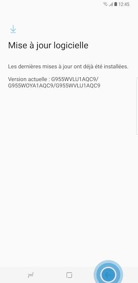 Votre appareil est configuré par défaut pour rechercher d'éventuelles mises à jour du système Android