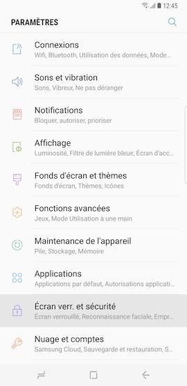 Comment epingler des applications sur l ecran de verrouillage de mon Samsung Galaxy S8 pour les lancer rapidement a partir de cet ecran