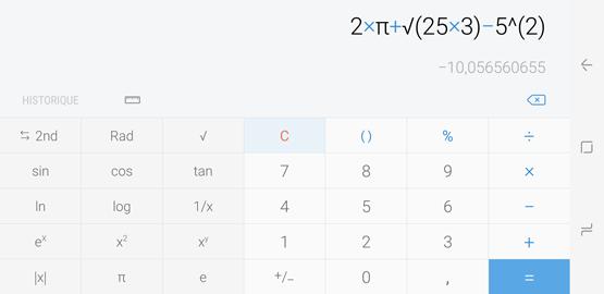 Calculatrice 5