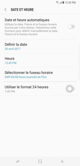 Date et heure 6
