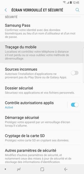 Traçage du mobile 2