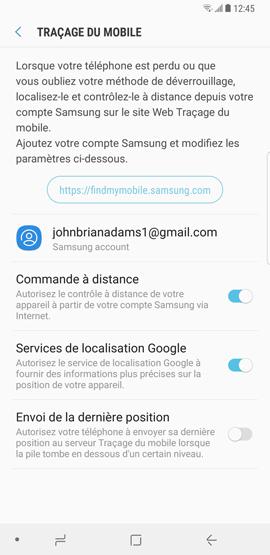 Traçage du mobile 5