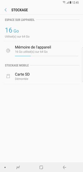 Désactiver la carte mémoire microSD 7
