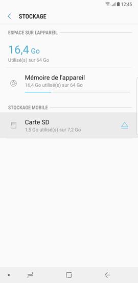 Formater la carte mémoire microSD 5