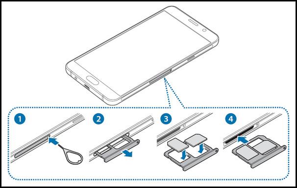 三星A5如何安装SIM卡0