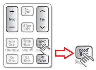 ¿Qué es la función Good´Sleep, y cómo se activa? Aire Acondicionado Samsung