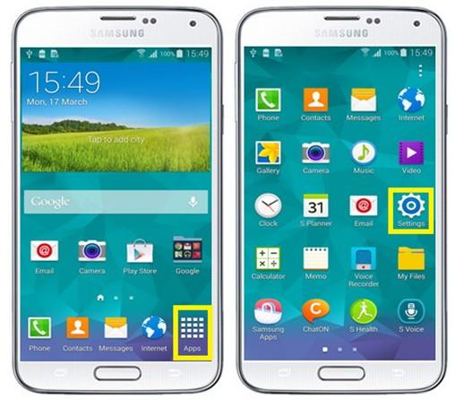 ¿Cómo activar FingerPrint en el Samsung Galaxy S5?