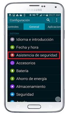 ¿Cómo configurar el Geo News en el Samsung Galaxy S5? ¿Cómo utilizarlo como widget?