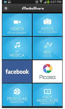 ¿Cómo compartir multimedia con el televisor a través IMEDIA SHARE PERSONAL?